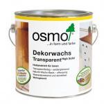 OSMO 3101 Wosk Olejny Dekoracyjny Lazurowy Bezbarwny