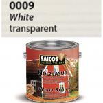 SAICOS 0009 Lazura Olejna do Ochrony Drewna Kolor BIAŁY